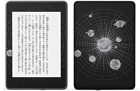 igsticker kindle paperwhite 第4世代 専用スキンシール キンドル ペーパーホワイト タブレット 電子書籍 裏表2枚セット カバー 保護 フィルム ステッカー 016129 地球 宇宙