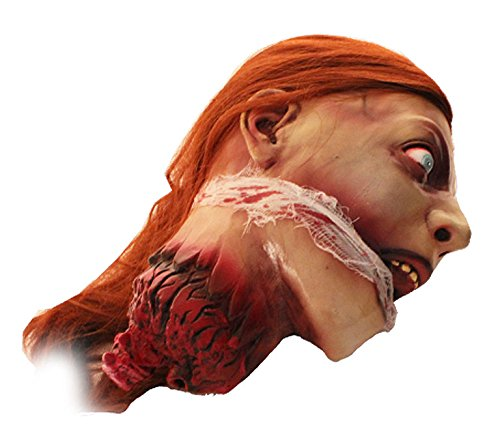 Halloween Frauen Kopf Lady Guillotine Henker Opfer Horror Deko Lebensgro/ß super realistisch