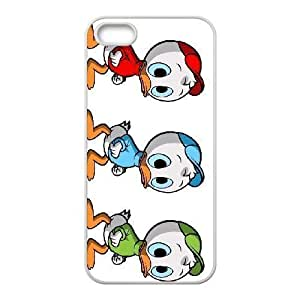 iPhone 5 5s Cell Phone Case White Disney Donald's Nephews Character Dewey Evkph