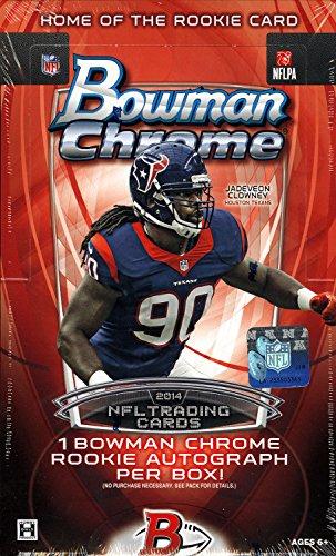 2014 Bowman Chrome NFL Football HOBBY box (18 pk)