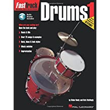 FastTrack Music Instruction - Drums, Book 1 (Fasttrack Series)