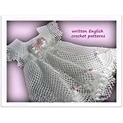 Crochet Patterns: Crochet baby dress 99/ How To Crochet/ Crochet Step by Step/ Baby Crochet Patterns/ Lacy Crochet Baby Dress Pattern/ Vintage Crochet Baby Dress Pattern