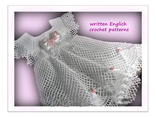 Crochet Patterns: Crochet baby dress 99/ How To Crochet/ Crochet Step by Step/ Baby Crochet Patterns/ Lacy Crochet Baby Dress Pattern/ Vintage Crochet Baby Dress Pattern