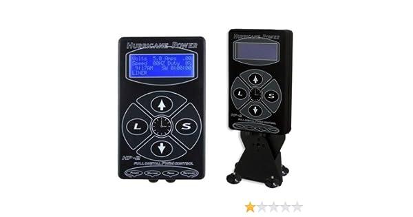Hurricane digital Máquina Tatuaje fuente de alimentación Tattoo Power Supply: Amazon.es: Electrónica
