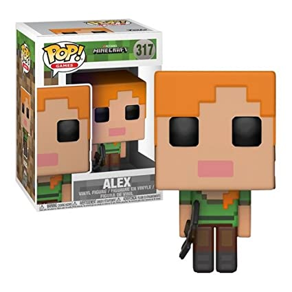 Funko Pop Games Minecraft Alex Collectible Figure