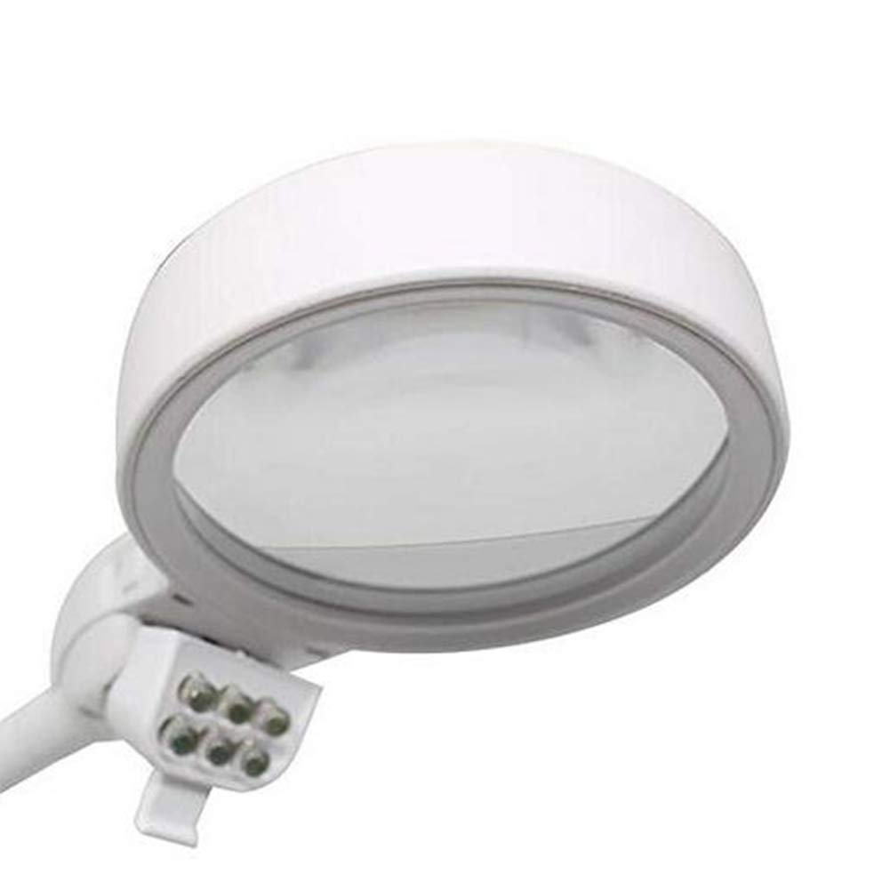 Amazon.com: Magnifiers JFW-2X 5X Illuminated Desttop Table Sewing Embroidery Magnifying Glass for Reading Watch Cellphone Repair with LED Lamps: Sports & ...