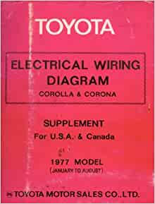electrical wiring diagram corolla corona 1977 model. Black Bedroom Furniture Sets. Home Design Ideas