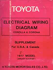 Wondrous 1977 Toyota Corona Electrical Wiring Diagram Original Jan 77 Basic Wiring Database Gramgelartorg