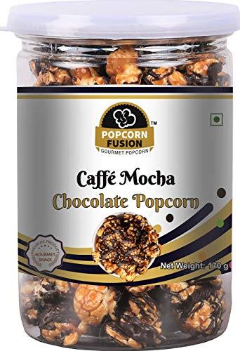 Popcorn Fusion Caffè Mocha Chocolate Popcorn-Combo Pack (170g*2)-340g (170g)