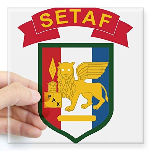 ab4fe7576eb CafePress - U.S.Army SETAF Italy Square Sticker 3