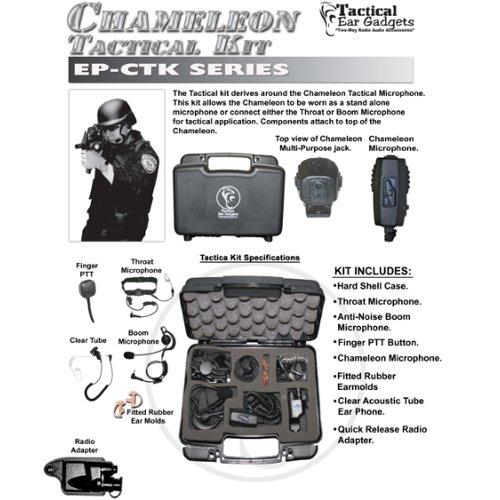 Tactical Ear Gadgets CHAMELEON Tactical Kit for Harris / Macom Jaguar (See List) by Tactical Ear Gadgets
