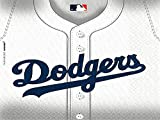 Amscan Mlb Los Angeles Dodgers Luncheon Paper Napkins Tableware Party Supplies , White, 432 Piece