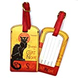 Luggage Tag - ''Chat Noir'' by Fridolin