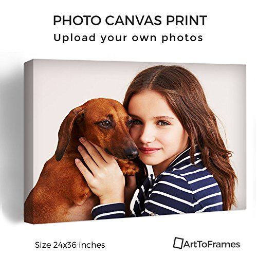ArtToFrames Photo To Canvas Gallery Wrap 1.5 Inch – 24x36 (Photo Canvas)