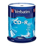 Verbatim 94554 CD Recordable Media -CD-R -52x -700 MB -100 Pack Spindle