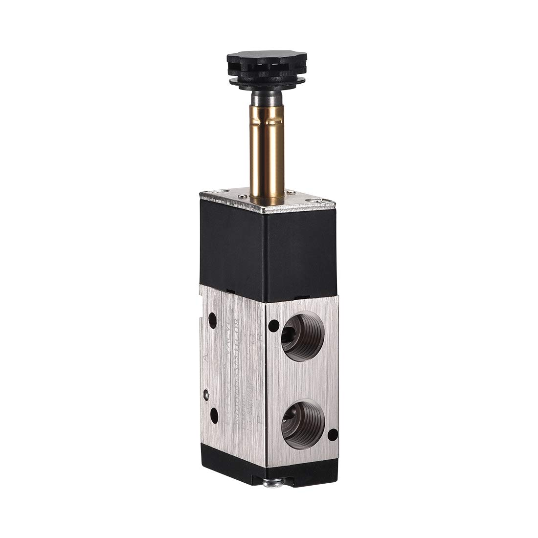 sourcing map 3Way 2 Position 1//4PT,Pneumatic Air Control NC Solenoid Valve,Internally Single Piloted Acting Type,3V210-08