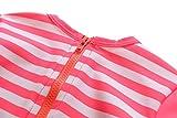 ALove Baby Girls One Piece Swimsuit Zipper Rash