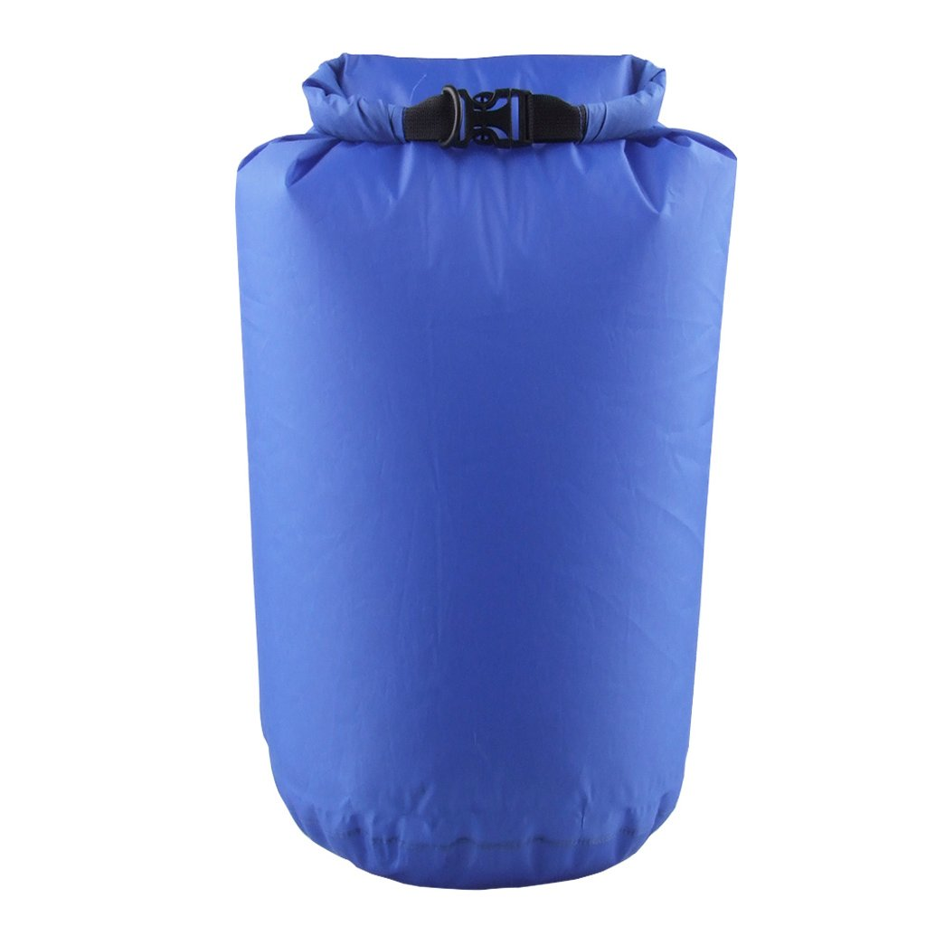 10L 25L 80L Waterproof Dry Bag for Camping Floating Boating Kayaking Rafting Canoeing Blue Generic