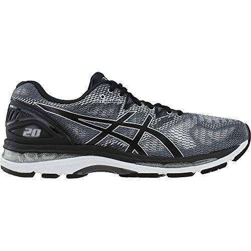 ASICS Men's Gel-Nimbus 20 Running Shoe, Carbon/Black/Silver, 6.5 Medium US by ASICS (Image #1)