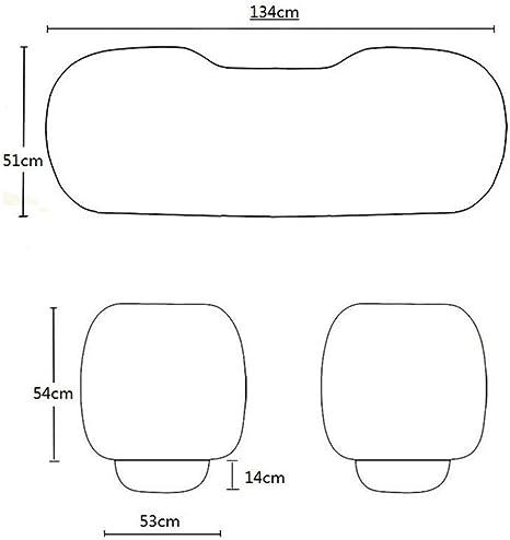 protecci/ón para asientos Beige Negro Han sui song Asientos para coche accesorios coche 3/piezas
