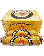 Gold Star Instant Charcoals for Hookah Shisha Hooka Pipe Incense Easy Lite Coal