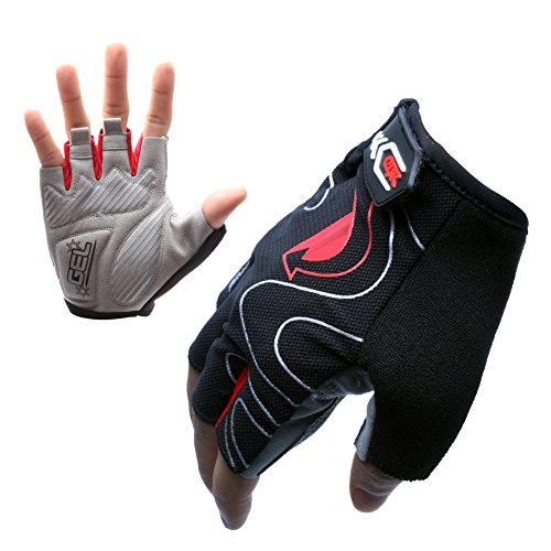 West Biking Cycling Gloves Mountain Bike Gloves Road Racing Bicycle Gloves Ultralight Silicone Gel Pad Riding Gloves Half Finger Gloves Men/Women Sport Gloves