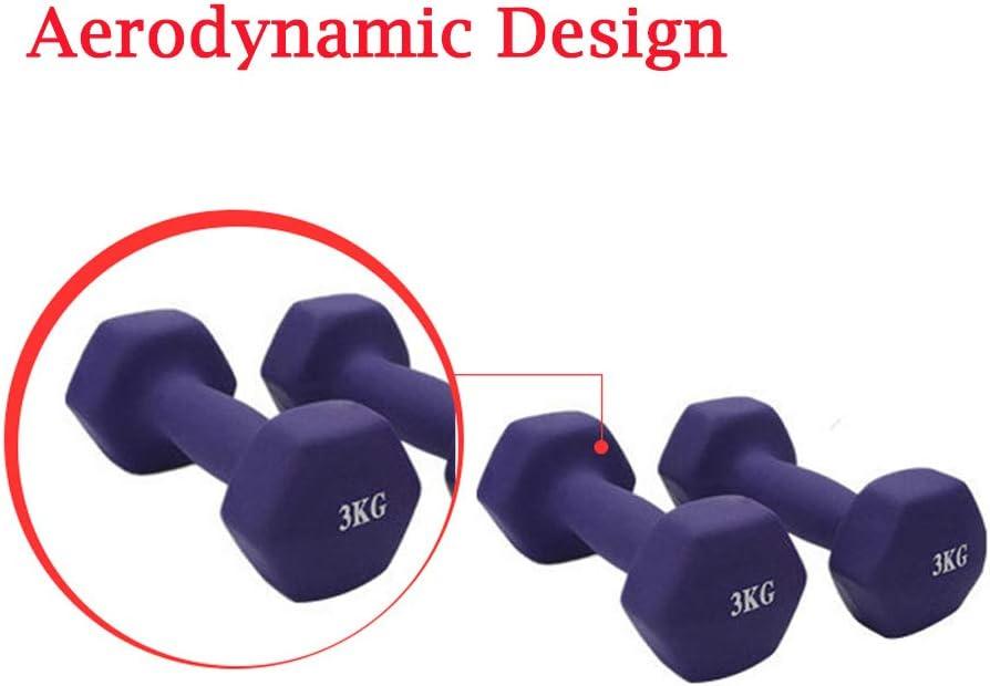 1.5KG,Purple Unstopup Sport Antid/érapant Hex Halt/ères Givr/és Halt/érophilie Trempage Conception A/érodynamique /Équipement de Fitness A/érobic Halt/ère