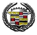 Cadillac Logo Metal/Enamel Belt Buckle