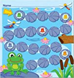 Carson Dellosa Funky Frogs Mini Incentive Charts (148017)