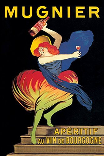 BuyEnlarge 0-587-00204-2-DC-48x32_032017 Mugnier Apéritif Au Vin De Bourgogne by Leonetto Cappiello Wall Decal, 48