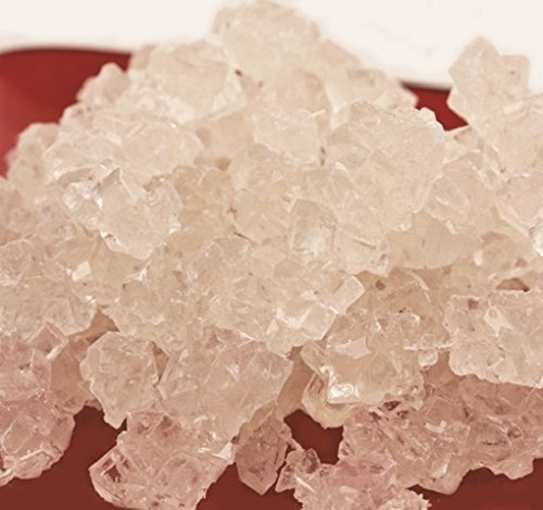 Rock Candy Natural Sweet Flavor white candy 5 pounds by Dryden & Palmer