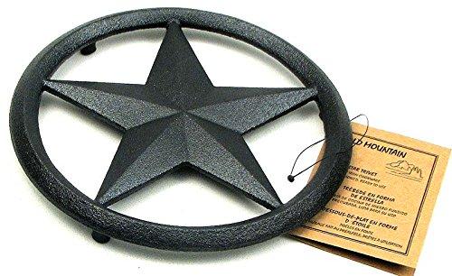 Cast Iron Star Trivet ()