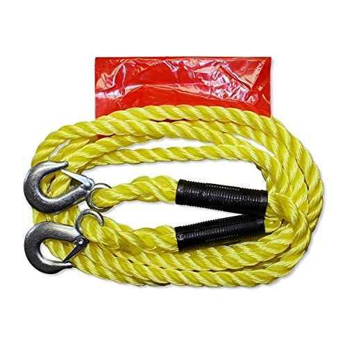 AUTONIK 122030/Tow Rope with Shackle Up To 3,000/kg 4 m