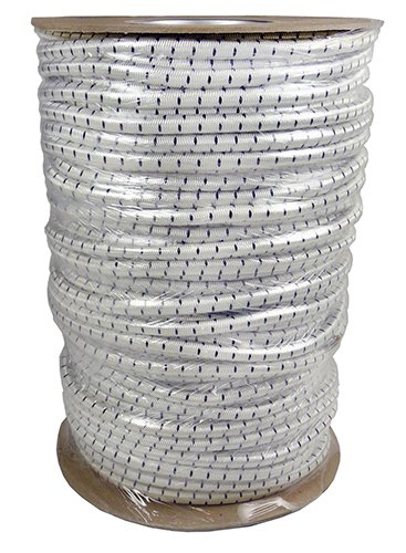 Keeper 06173 300 x 5//16 Marine Grade Bungee Cord Reel