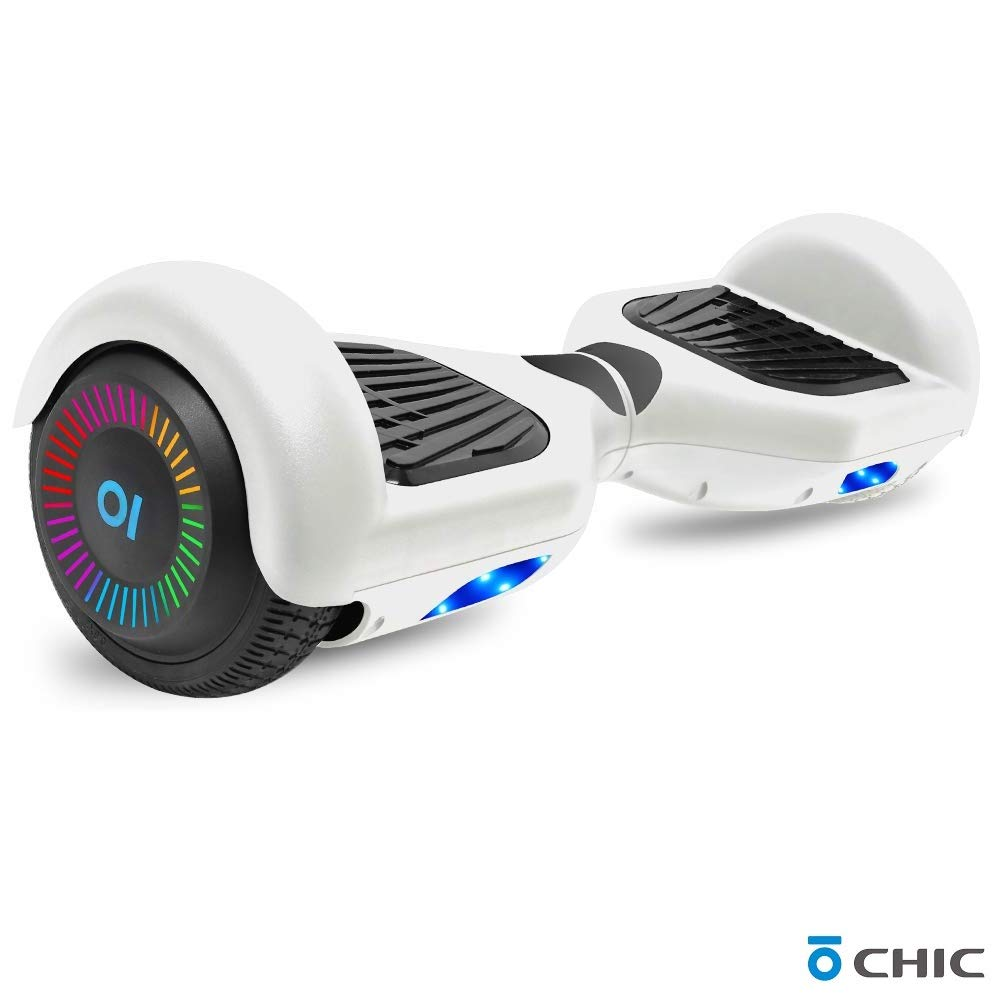 UL2272 Safety Certified TPS 6.5 Hoverboard Electric Self Balancing Scooter LED Wheel Lights for Kids and Adults