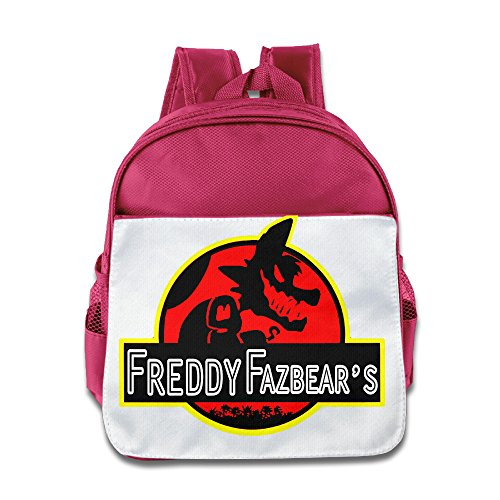 XJBD Custom Personalized At Freddy Teenager School Backpack For 1-6 Years Old Pink