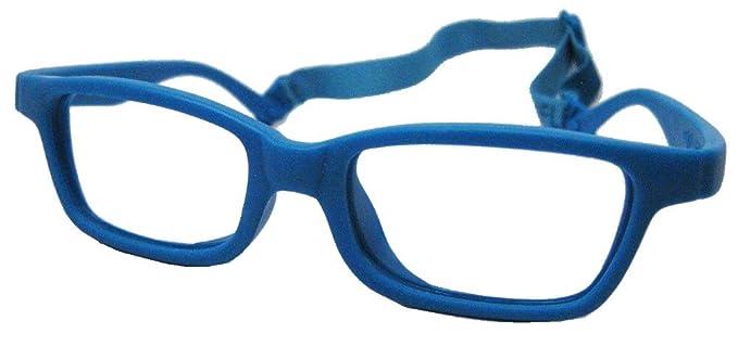 0796a35447 Amazon.com  Miraflex Maya Modified Eye Glass Frame w Extended Heel 42 15  Teal  Health   Personal Care