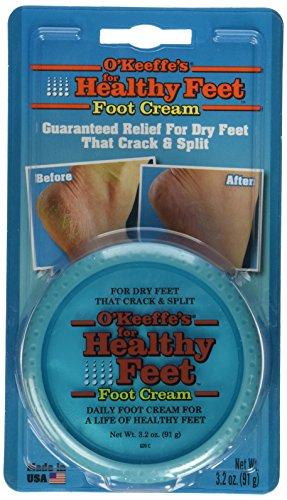 O'Keeffe's for Healthy Feet Foot Cream, 3.2 oz, Jar,