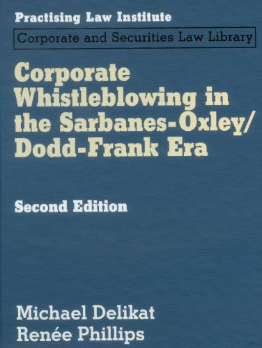 Whislteblowing and Sarbanes-Oxley Due
