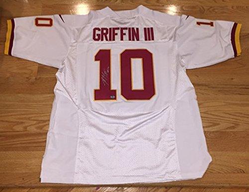 ROBERT GRIFFIN III RG3 Signed Autographed REDSKINS NFL Jersey RG3 Hologram