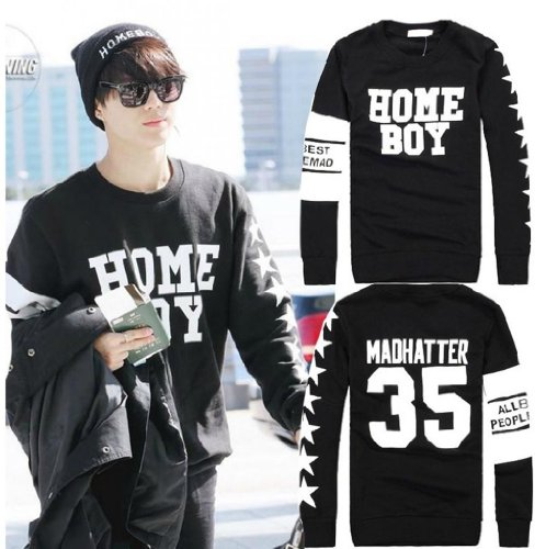 Homeboy Gifts (Fanstown Shinee Taemin homeboy hoodie sweater with Taemin)
