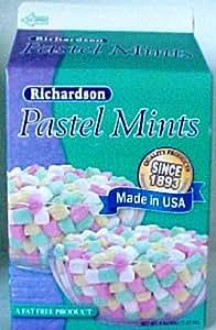 Richardson Pastel Mints, 5.5-Ounce Boxes (Pack of 12)