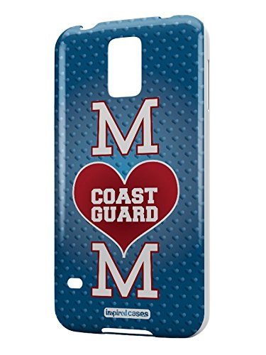 - Inspired Cases 3D Textured Coast Guard Mom Military Case for Samsung Galaxy S5