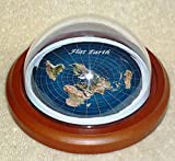 Flat Earth Map Dome Display Model