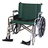 """26"""" Wheelchair with Detachable Footrests"""