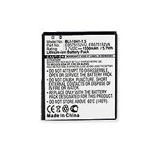 Samsung EB575152LA Replacement Battery (Li-Ion 3.7V 1550mAh) Rechargable Battery - Replacement For Samsung GALAXY S Cellphone Battery