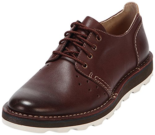 Clarks Darble Walk - Zapatos de cordones derby Hombre Marrón (Chestnut Leather)