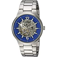 Bulova Men's Automatic Stainless Steel Casual Watch, Color:Silver-Toned (Model: 43A135)