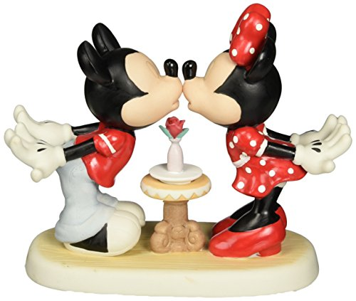 Disney Kiss - Precious Moments, Disney Showcase Collection, Love At First Kiss, Bisque Porcelain Figurine, 133705