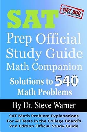 Amazon.com: SAT Prep Official Study Guide Math Companion: SAT Math ...